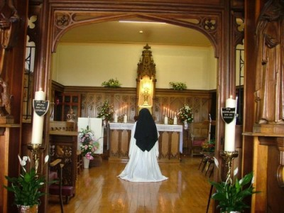 Benedictine Monastery Largs Adoration